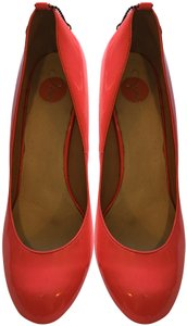 Diesel Patent Leather Hot Pink Pumps