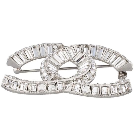Chanel Large CC Baguette Crystal Flashy Brooch Image 2