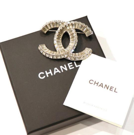 Chanel Large CC Baguette Crystal Flashy Brooch Image 3