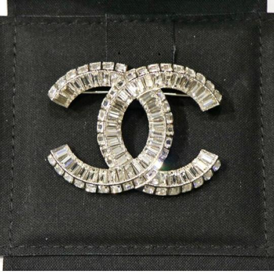 Chanel Large CC Baguette Crystal Flashy Brooch Image 4