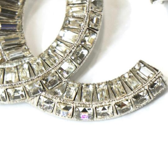 Chanel Large CC Baguette Crystal Flashy Brooch Image 6