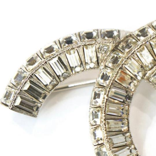 Chanel Large CC Baguette Crystal Flashy Brooch Image 7