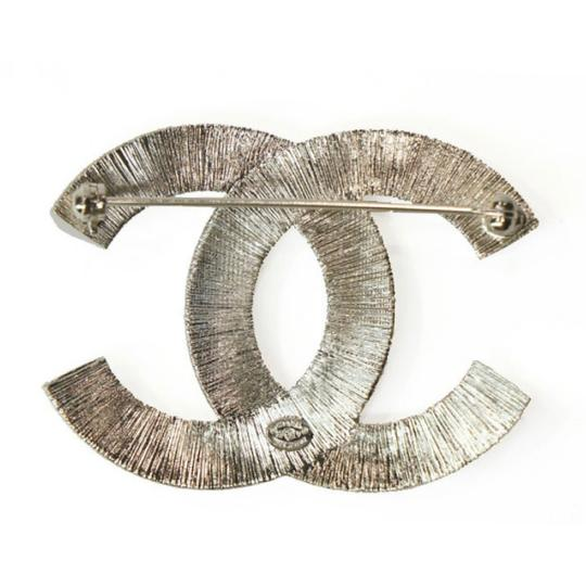 Chanel Large CC Baguette Crystal Flashy Brooch Image 9
