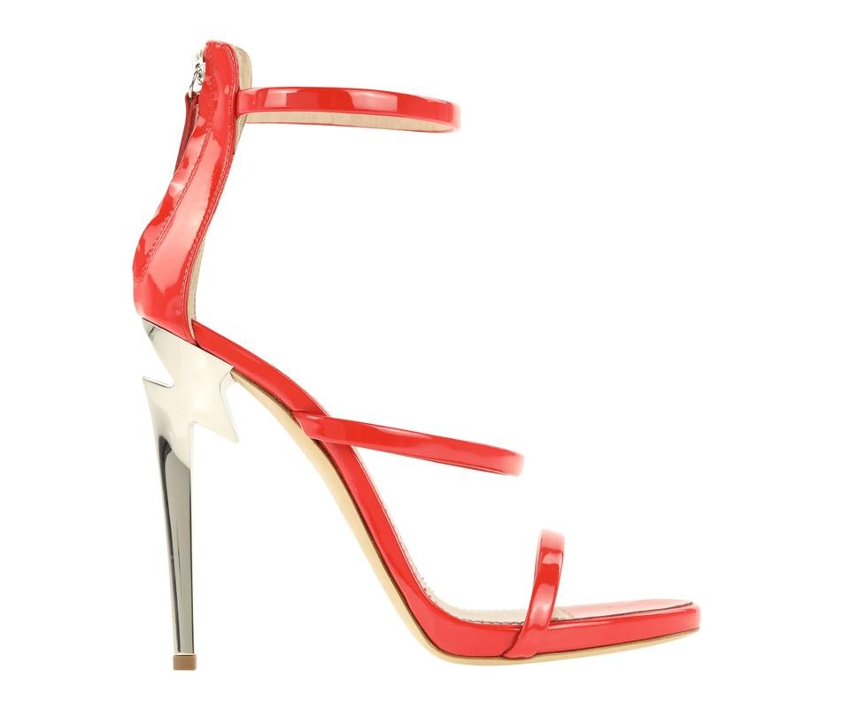 17a53510ff3 Red Harmony G-heel Sandals