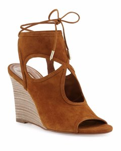 Aquazzura Cognac Sandals