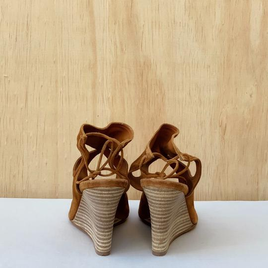 Aquazzura Cognac Sandals Image 2