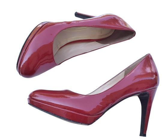 Cole Haan Red Patent Air Pumps Size US