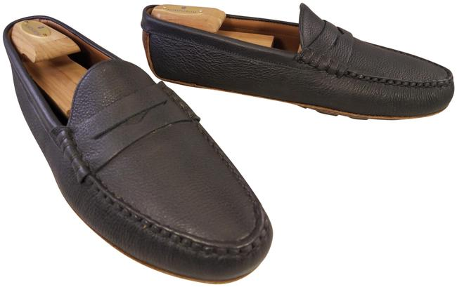 Item - Charcoal Penny Loafers Driving Moccasins Black Formal Shoes Size US 11.5 Regular (M, B)