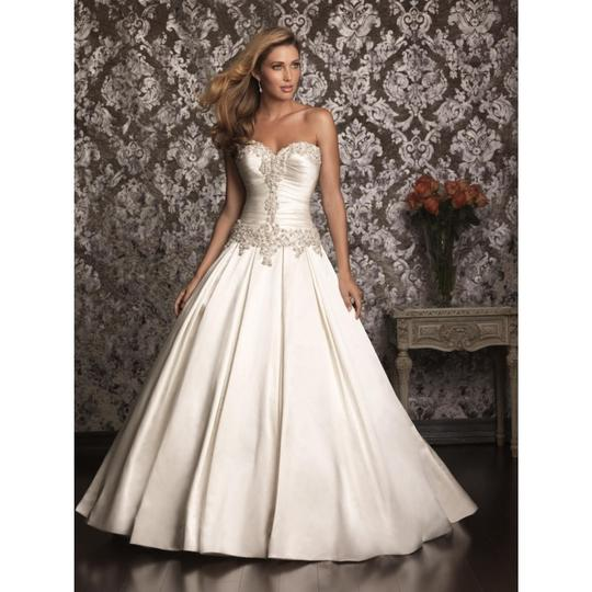 Allure Bridals Wedding Dresses: Allure Bridals Off-white Satin Gown 9003 Formal Wedding