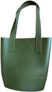 Hunter All Weather Large Tote in Dark green