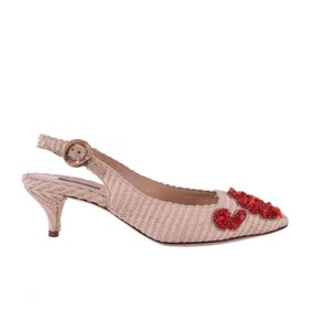 Dolce&Gabbana Beige / Red Pumps