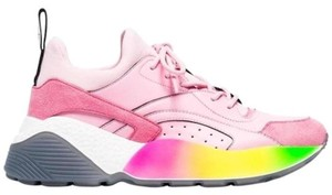 Stella McCartney Chunky Dad Sneakers Rainbow Sale Pink Athletic
