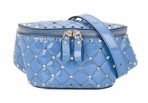 Valentino Rockstud Studded Classic Quilted Fanny Shoulder Bag
