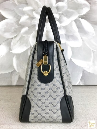 Gucci Micro Gg Navy Satchel in blue Image 4