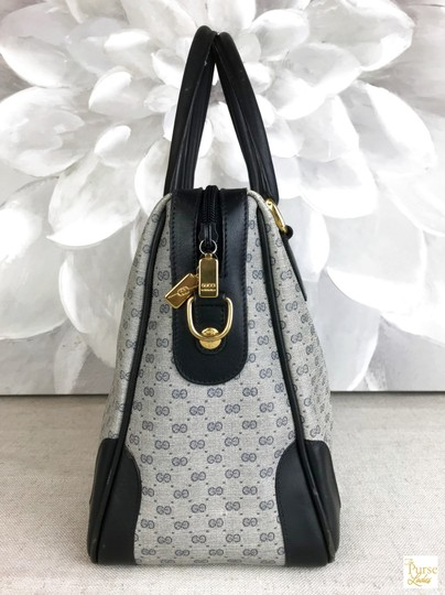 Gucci Micro Gg Navy Satchel in blue Image 5