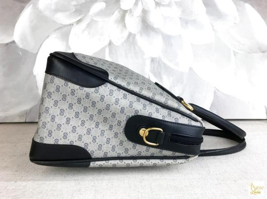 Gucci Micro Gg Navy Satchel in blue Image 6