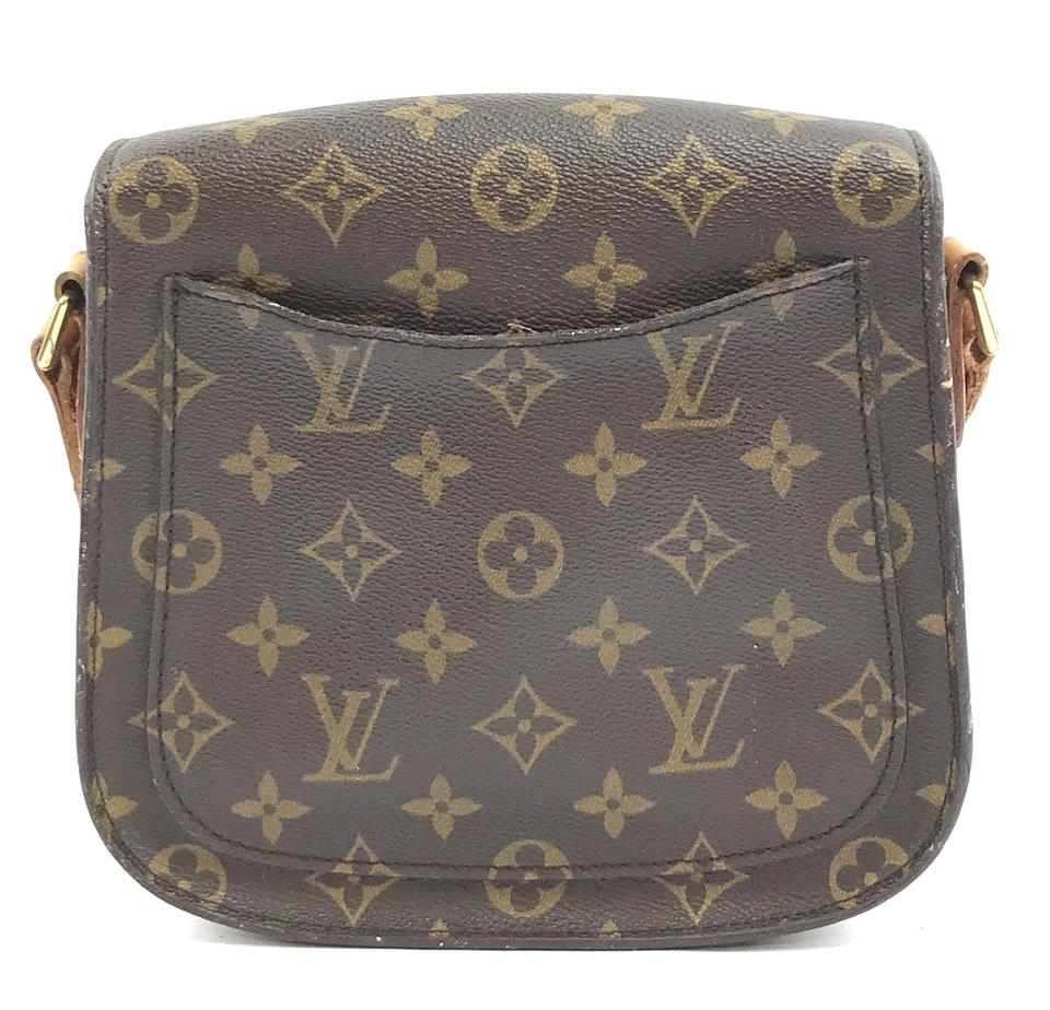 229a628265e29 Louis Vuitton Saint Cloud Canvas Cross Body Bag Image 11. 123456789101112