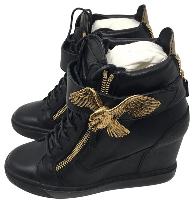 Item - Black Gold New Sneakers Size EU 40 (Approx. US 10) Regular (M, B)