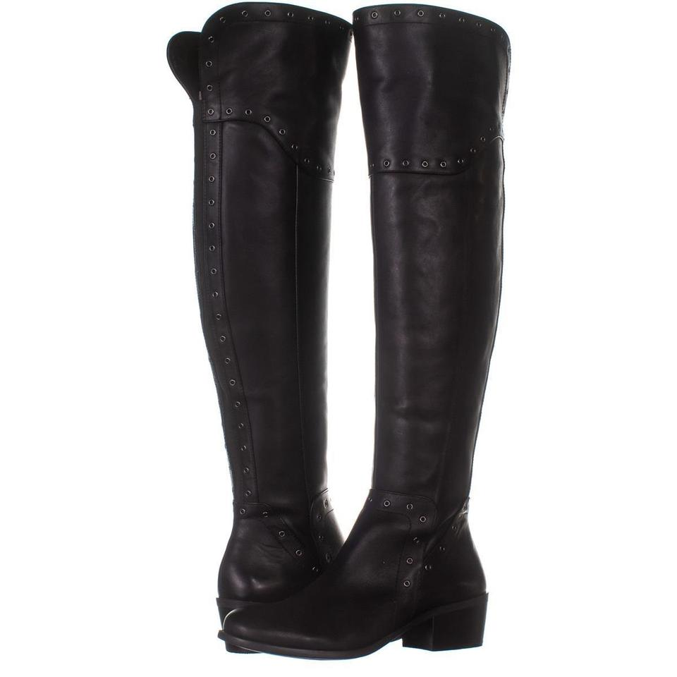 6c7791167e1 Vince Camuto Black Bestan Studded Over The Knee 502 / 40 Boots/Booties Size  US 10 Regular (M, B) 59% off retail