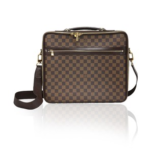 Louis Vuitton Damier Ebene Briefcase Laptop Bag