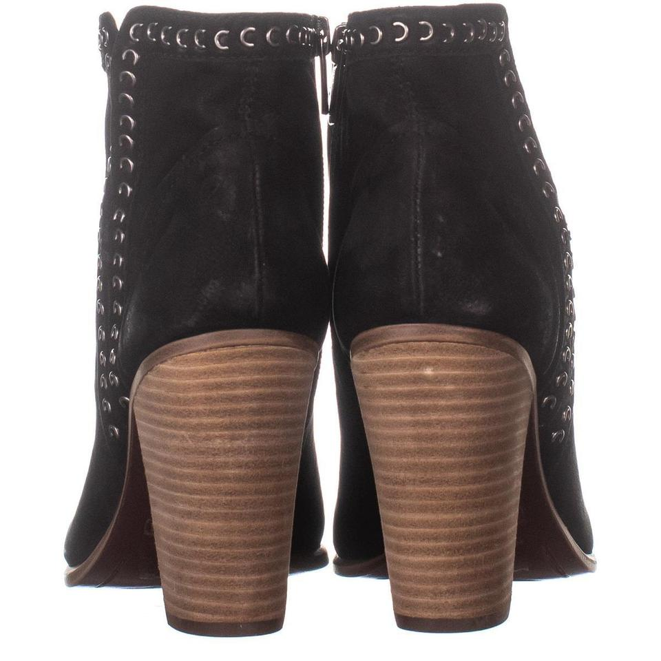 3b55ac812c3 Vince Camuto Black Finchie Zip Up Ankle 604 / 38.5 Boots/Booties Size US 8  Regular (M, B) 57% off retail