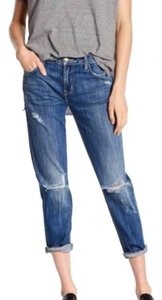 Current/Elliott Relaxed Fit Jeans-Medium Wash