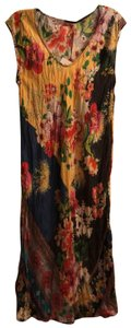 Multi-Floral Maxi Dress by Johnny Was
