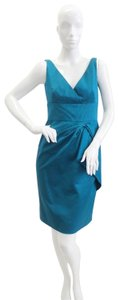 Lela Rose Sleeveless Silk Dress