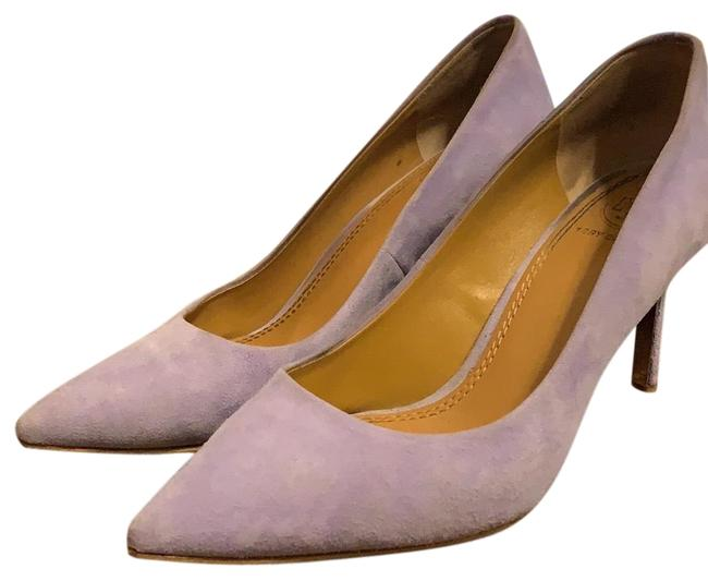 Item - Lavender Suede Heel Pumps Size US 6 Regular (M, B)