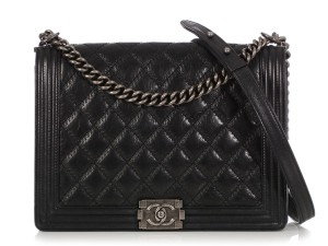 Chanel Ch.q0402.03 Distressed Silver Hardware Reduced Price Shoulder Bag