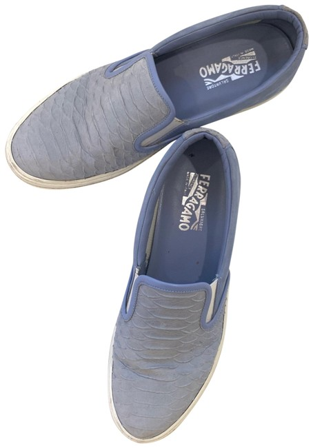Item - Blue Baby Suede Sneakers Sz10 Flats Size US 10 Regular (M, B)