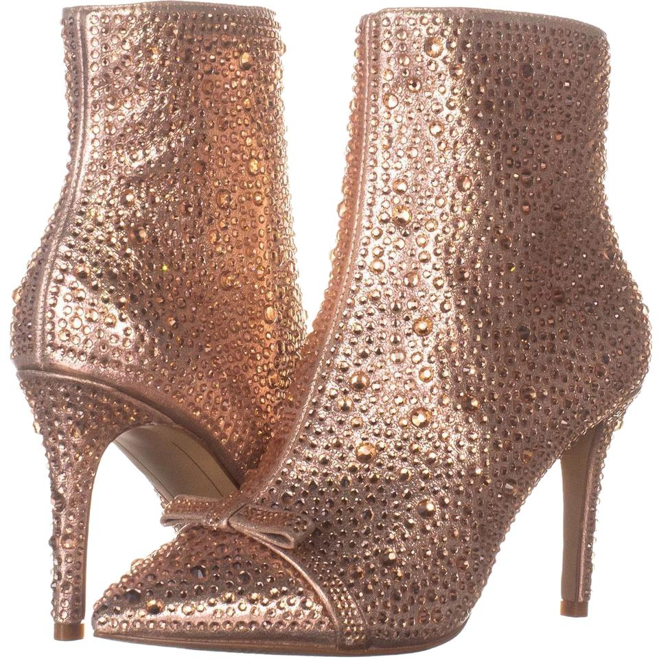 8c0995cc23e3 Pink Ignacia Pointed-toe Ankle 933 Rose Pearl Boots/Booties Size US ...