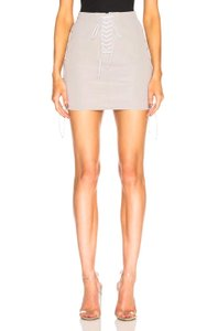 Unravel Project Mini Skirt Stone