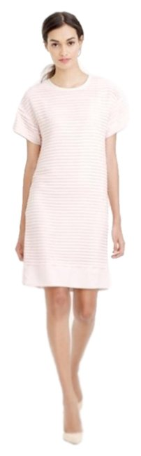 Item - Light Pink Pleated Short Casual Dress Size 2 (XS)