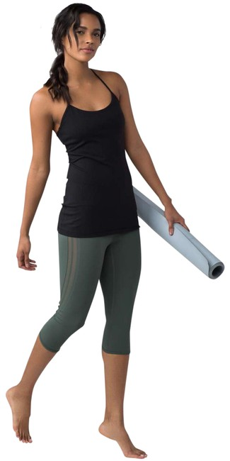 Preload https://img-static.tradesy.com/item/25448644/lululemon-black-power-pose-tank-activewear-top-size-6-s-0-1-650-650.jpg