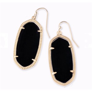 d1710a3d7 Black Kendra Scott Earrings - Up to 90% off at Tradesy