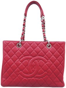 029e33b8eda439 Chanel Caviar Grand Shopping Tote Shoulder Bag