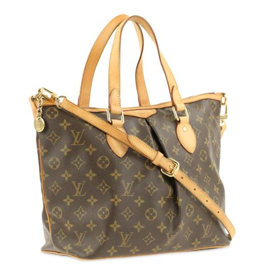 Louis Vuitton Palermo Pm Canvas Satchel in Brown Image 1