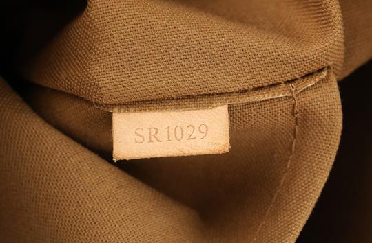 Louis Vuitton Palermo Pm Canvas Satchel in Brown Image 10