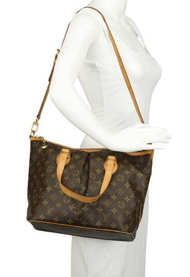 Louis Vuitton Palermo Pm Canvas Satchel in Brown Image 11