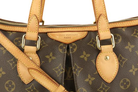 Louis Vuitton Palermo Pm Canvas Satchel in Brown Image 3