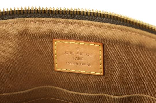 Louis Vuitton Palermo Pm Canvas Satchel in Brown Image 9
