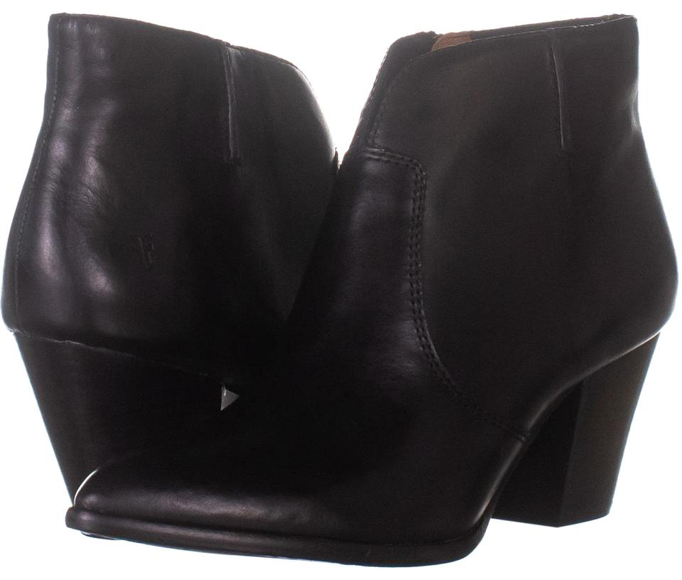 67e03b2af31 Frye Black Jennifer Short Cowboy 475 Boots/Booties Size US 8.5 Regular (M,  B) 55% off retail