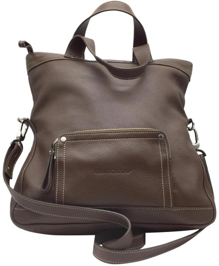 Preload https://img-static.tradesy.com/item/25450024/longchamp-fold-over-brown-pebbled-leather-tote-0-1-540-540.jpg