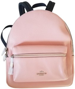 Coach Pink Charlie Medium Backpack
