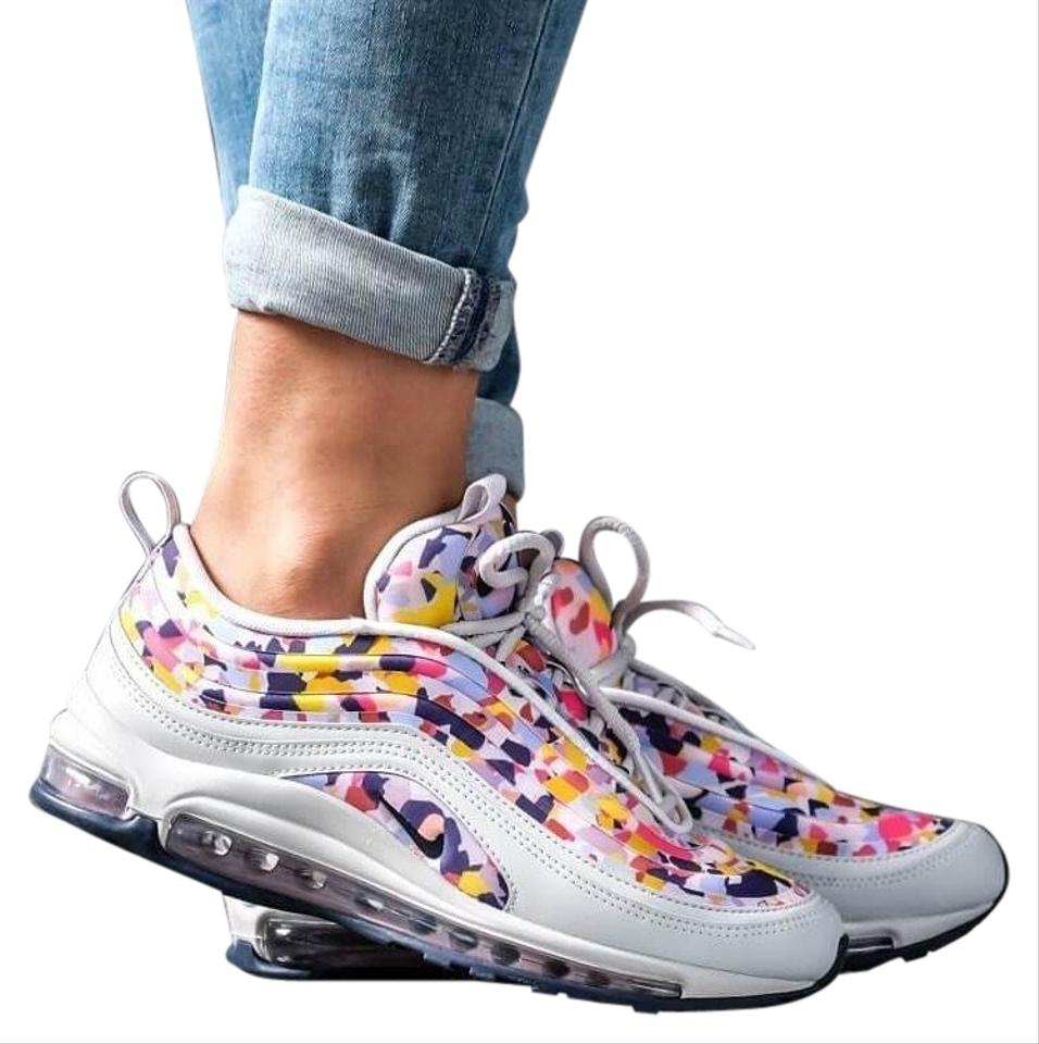 Nike Women's Air Max 97 Ul '17 Premium It Features Synthetic Leather Overlays For Support and A Series Of Sneakers Size US 7.5 Narrow (Aa, N) 20% off