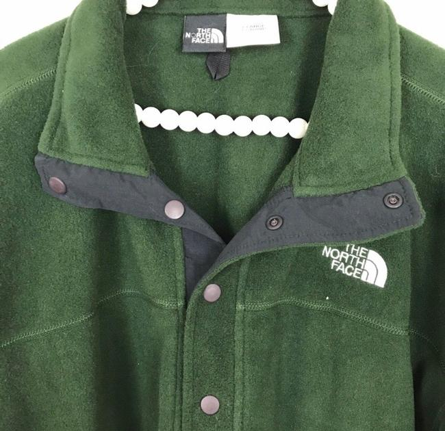 The North Face Green Jacket Image 3