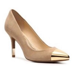 Audrey Brooke Tan Pumps