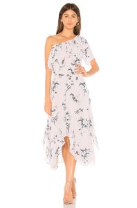 Lavender Floral Maxi Dress by MISA Los Angeles