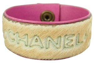 Chanel CHANEL 01A Leather Bracelet